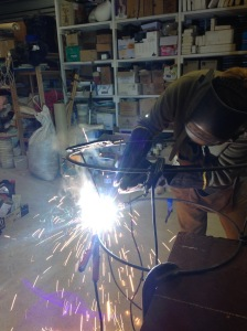 Putting my welding skills to the test...
